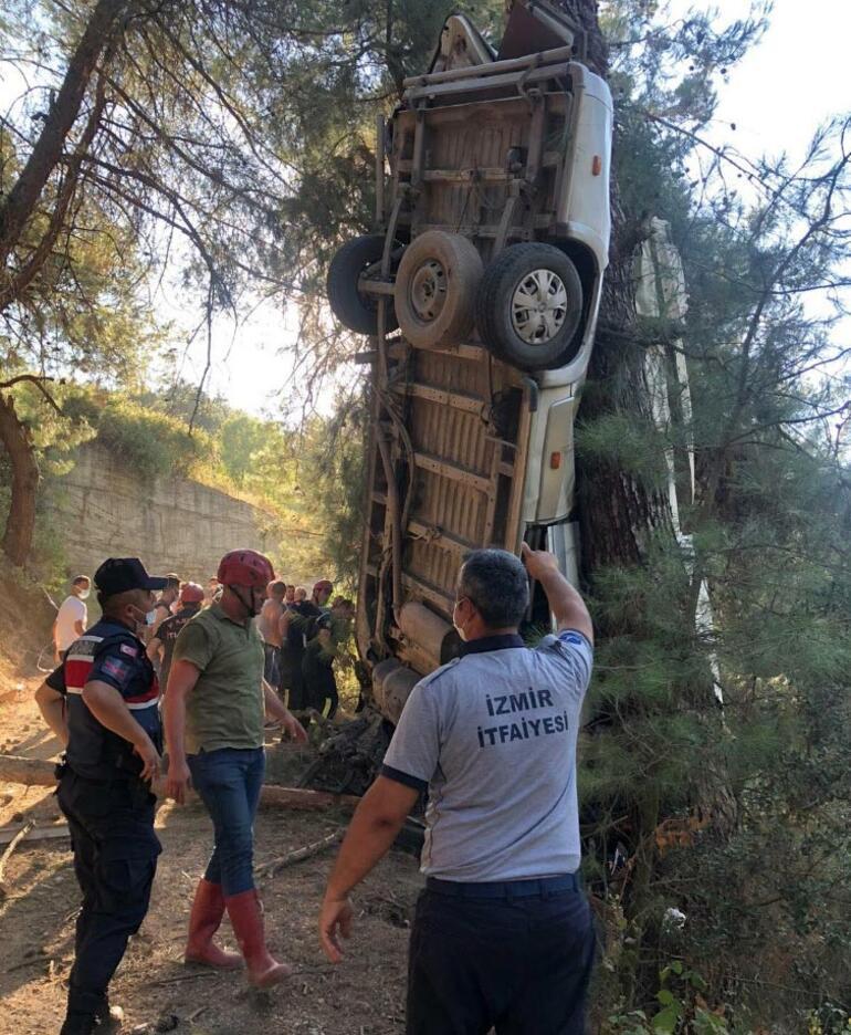 Son dakika: İzmirde feci kaza Çok sayıda ölü ve yaralı var