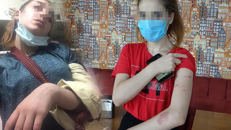 Genç kadının yardım çığlığı Dudağıma defalarca yumruk vurdu