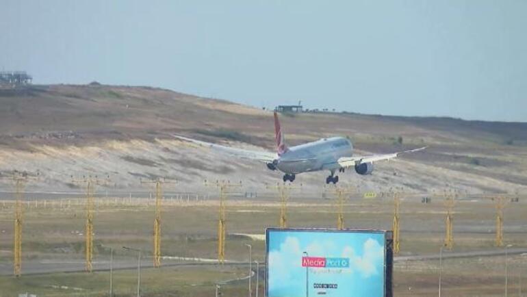 Son dakika Kabilden Türkleri getiren uçak İstanbul Havalimanına indi