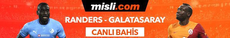 Randers-Galatasaray maçı Tek Maç ve Canlı Bahis seçenekleriyle Misli.com'da