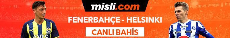 Fenerbahçe-Helsinki maçı canlı bahis seçenekleriyle Misli.comda