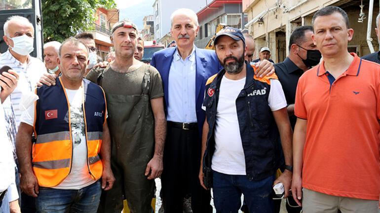 AK Partili Kurtulmuştan sel bölgesinde önemli açıklamalar