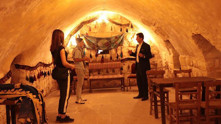 Mağara şehri turizme kazandırıldı
