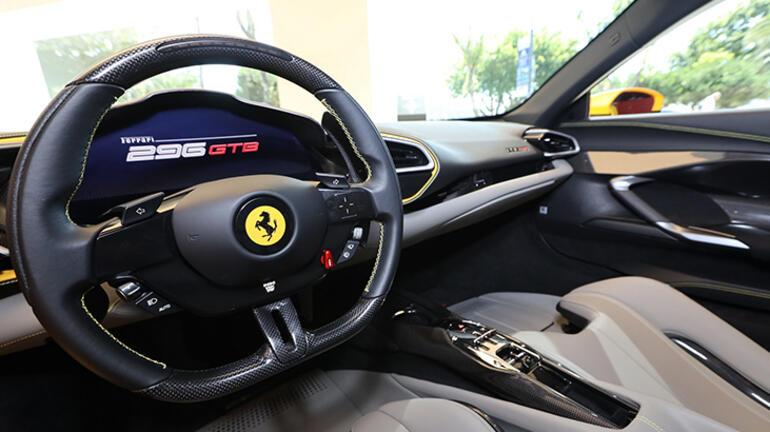 Ferrari 296 GTB, dünya lansmanı kapsamında Türkiyede tanıtıldı
