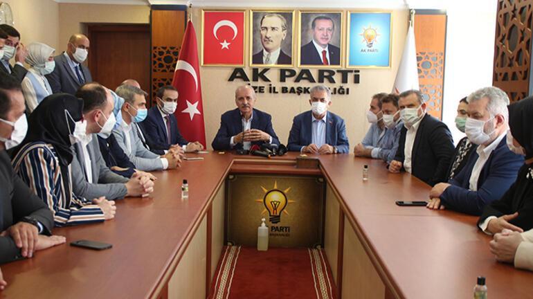 AK Partili Kurtulmuş: Terör bir insanlık suçudur