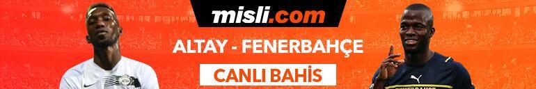 Altay - Fenerbahçe maçıTek Maç ve Canlı Bahis seçenekleriyle Misli.com'da