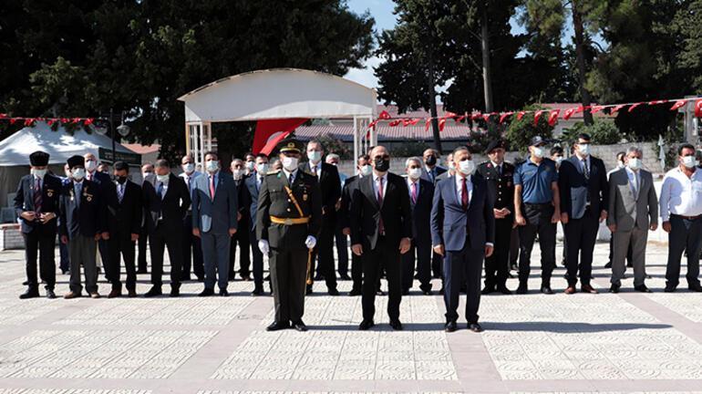 Adana, Mersin ve Hatayın ilçelerinde Büyük Zaferin 99. yıl dönümü kutlandı