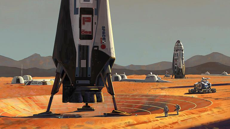 İnsanların Marsa gitmesi için en uygun zaman belirlendi
