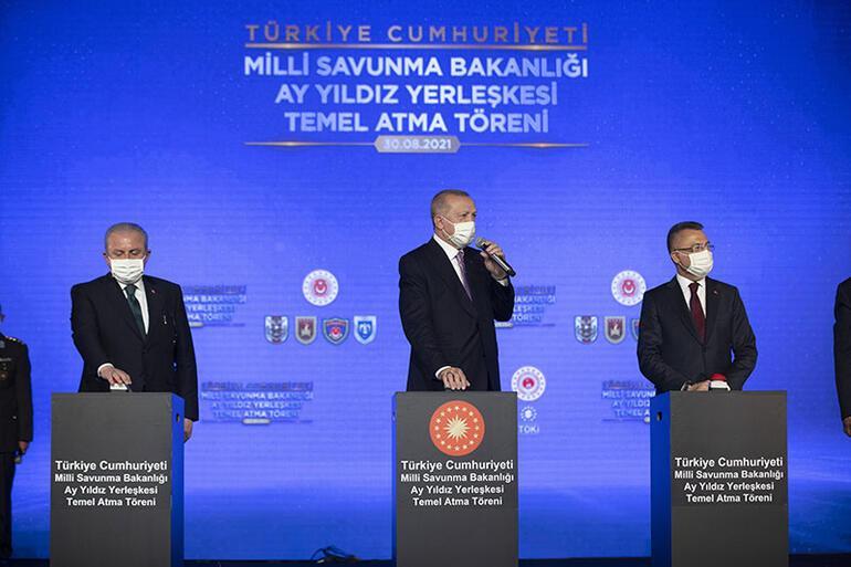 Son dakika... Ay Yıldız heyecanı Erdoğan: Amacımız Cumhuriyetin 100. yılında projeyi tamamlamak