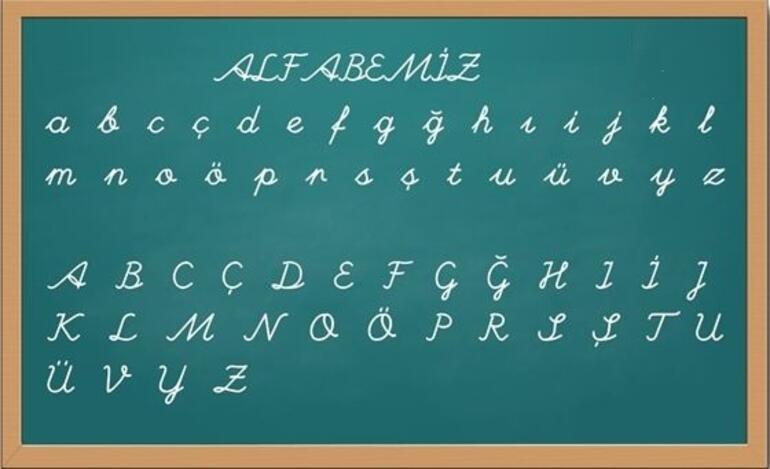 Alfabe ve Harfler: Türkçe Alfabede Kaç Harf Var Sırasıyla Alfabemizdeki Harfler (Alfabetik Sıralama)