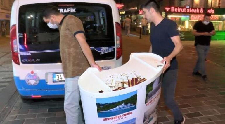 İstanbulda kaçak tur stantları 200 liraya Bursa