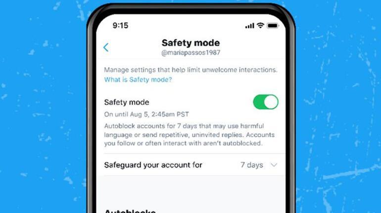 Twitter bir süredir beklenen Güvenlik Modu özelliğini test ediyor