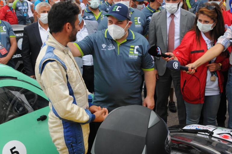 TEKNOFEST'te elektrikli araç yarışlarında final heyecanı İlgi çok büyük