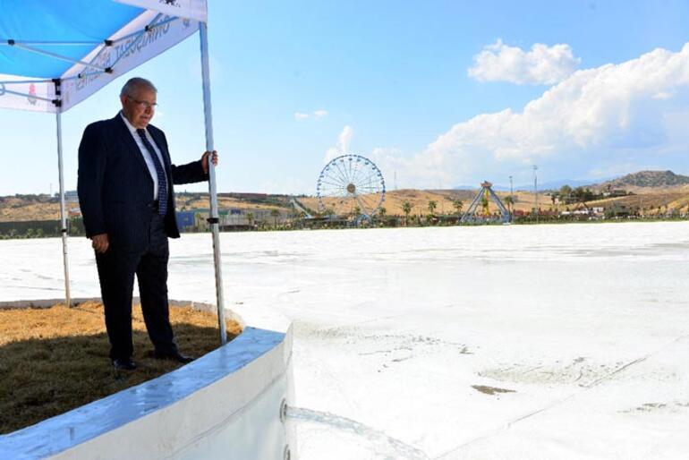 Yer: Kahramanmaraş Avrupanın en büyüğü su tutmaya başladı