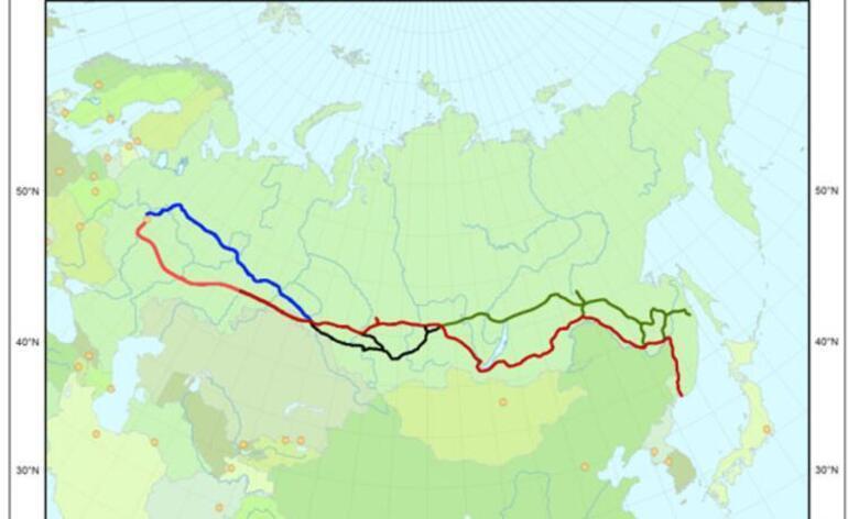 Kıtaları buluşturan yolculuk Trans Sibirya Demiryolu