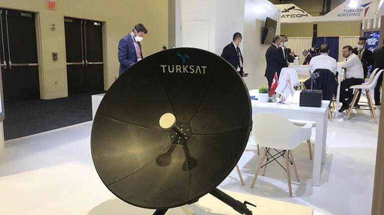 Dünyanın en büyük uydu fuarına Türkiye damgası
