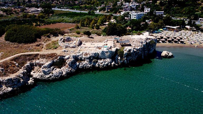 Elaiussa Sebaste Antik Kentinde kazılar devam ediyor