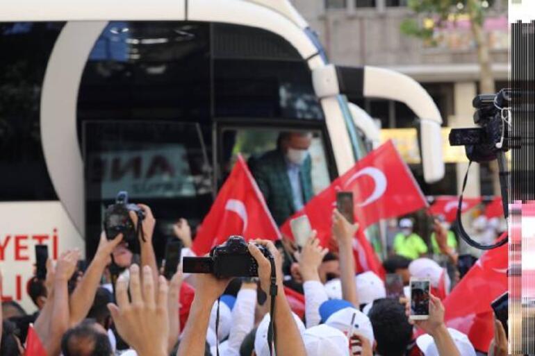Son dakika Cumhurbaşkanı Erdoğan: Meral Hanım sen kimi kime benzetiyorsun