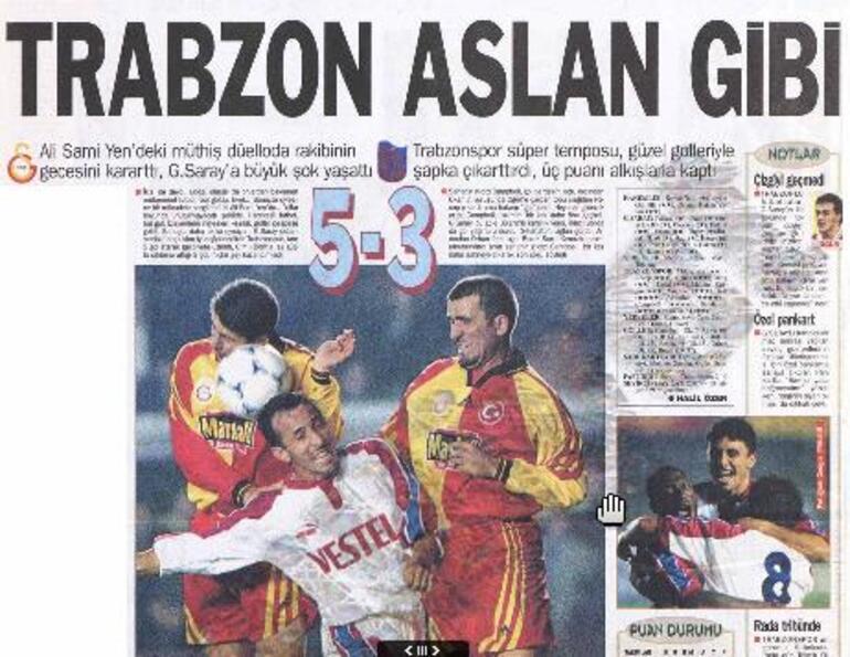 Trabzonspor - Galatasaray maçı olunca