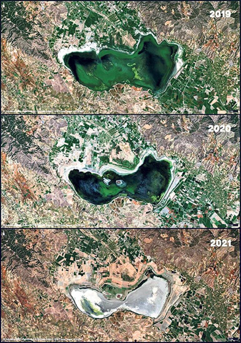 Son dakika haberleri: Sebebi iklim değil insan Göller çöllere dönüyor