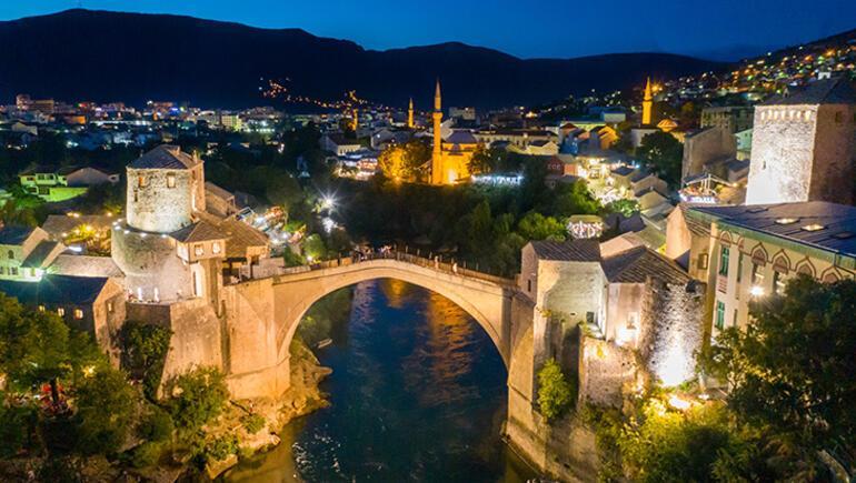Osmanlının Avrupadaki şaheseri Mostar Köprüsü