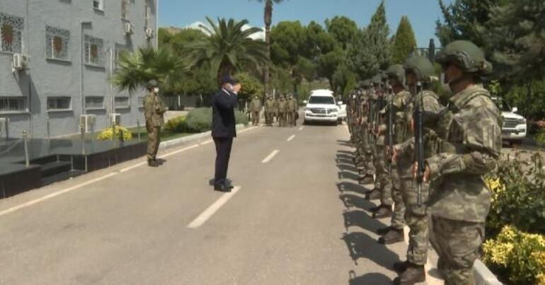 Son dakika: Akar ve komutanlar Suriye sınırında