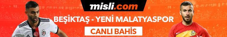 Beşiktaş-Yeni Malatyaspor maçı canlı bahis heyecanı ile Misli.comda