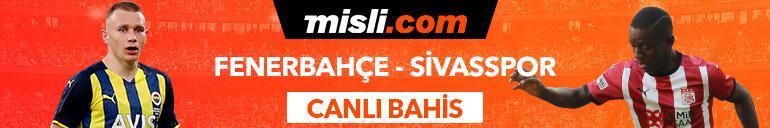 Fenerbahçe-Sivasspor maçı canlı bahis seçeneğiyle Misli.comda