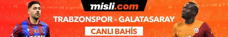 Trabzonspor-Galatasaray maçı canlı bahis seçeneğiyle Misli.comda
