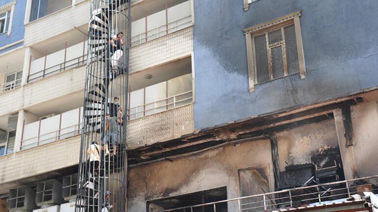 Muşta 6 katlı binada can pazarı 15 kişi hastaneye kaldırıldı