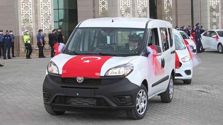 Erzurum Emniyet Müdürlüğü hurda satıp, araç aldı