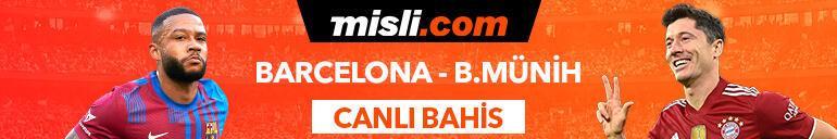 Barcelona - Bayern maçı Tek Maç ve Canlı Bahis seçenekleriyle Misli.com'da