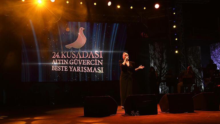 24. Kuşadası Altın Güvercin Beste ve Müzik Yarışması ödül gecesiyle sona erdi