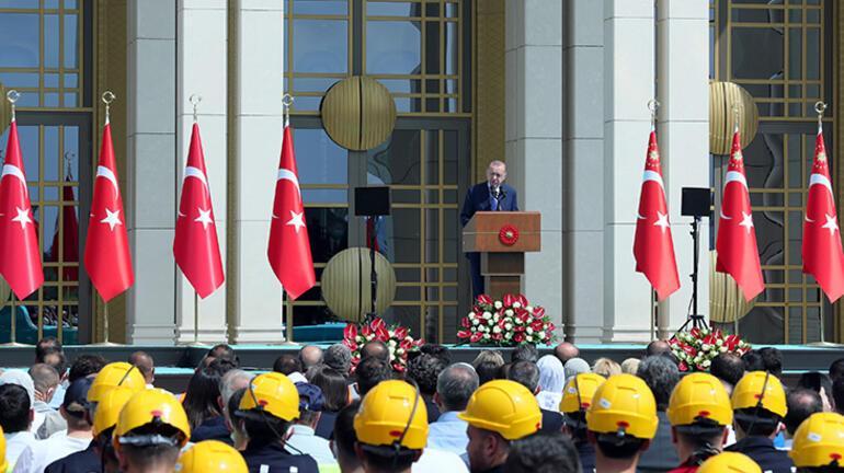 Son dakika... Beştepede bir ilk Cumhurbaşkanı Erdoğandan önemli açıklamalar
