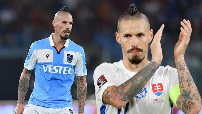 Son dakika - Trabzonsporda Marek Hamsik yorulmak bilmiyor Meydan okuyor