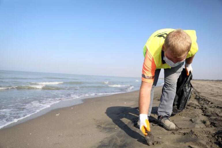 Mersinde çalışmalar sonuç verdi; petrol atıkları azaldı
