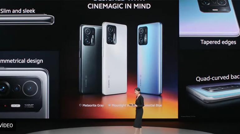 Xiaomi 11T ve 11T Pro modellerini tanıttı