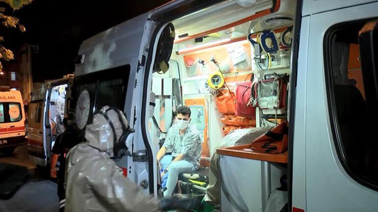 İstanbulda klor gazı sızıntısından etkilenen 5 kişi hastaneye kaldırıldı