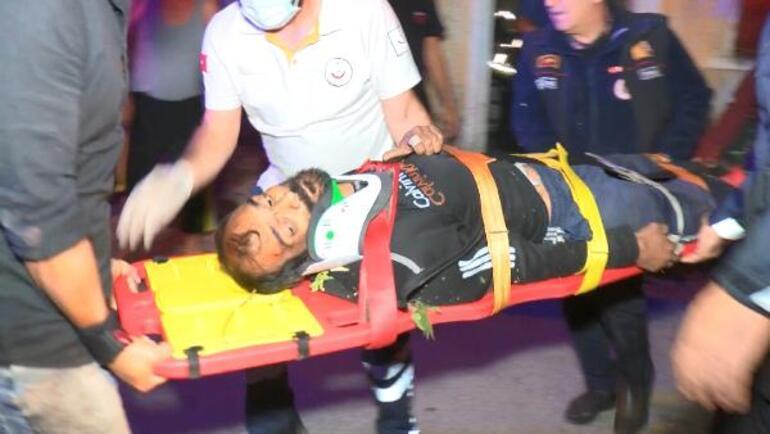 Ölümcül manzara 15 metreden düştü, mucize hayatta tuttu