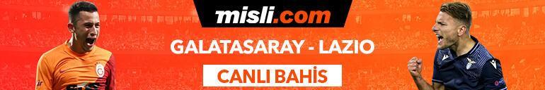 Galatasaray - Lazio maçı canlı bahis heyecanı Misli.comda
