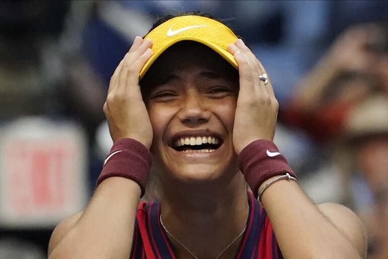 Çin devreye girdi, İngiltere çıldırdı Milyar dolarlık kadın sporcu Raducanu dünyayı sallıyor