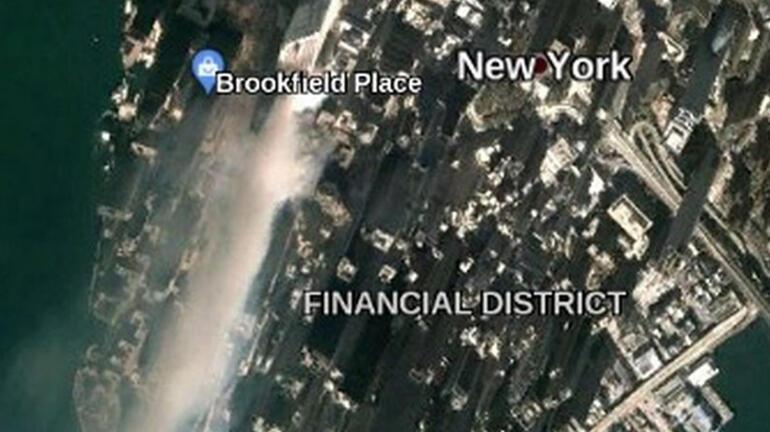 11 Eylül görüntüleri Google Earth'te ortaya çıktı