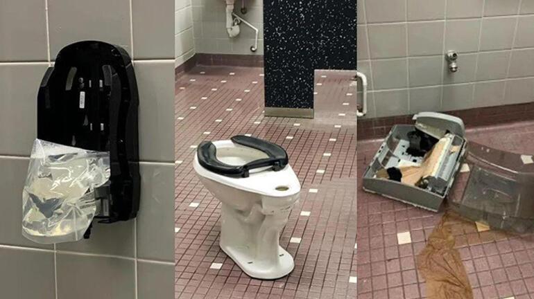 TikToktaki yeni çılgınlık bu sefer tuvaletlere yansıdı