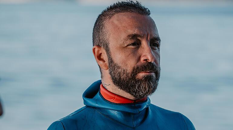 Rüstem Derin, ip destekli branşta 79 metre dalarak Türkiye şampiyonu oldu