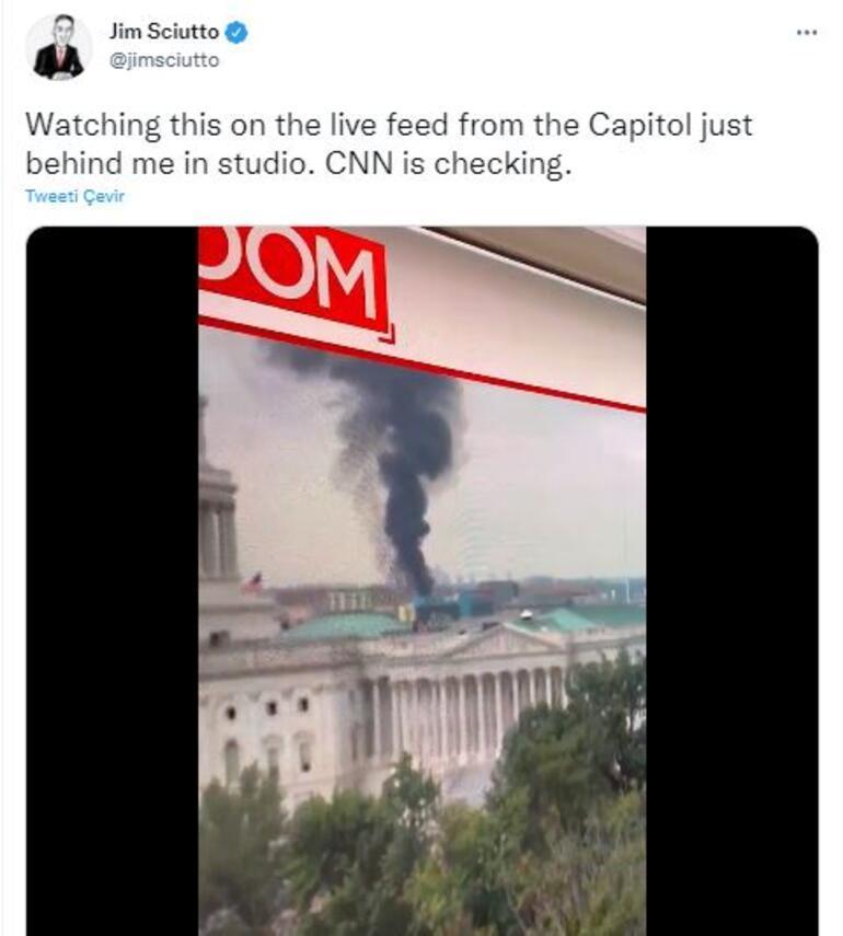 Son dakika: Washingtonda korkutan yangın
