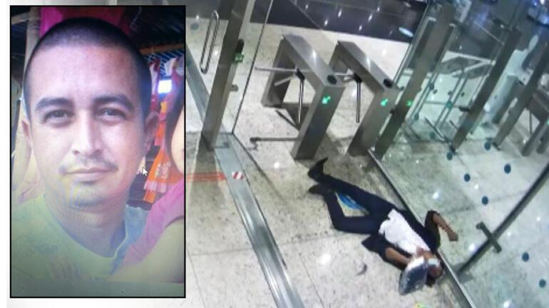İstanbul Havalimanında kan donduran ölüm Midesinde patladı