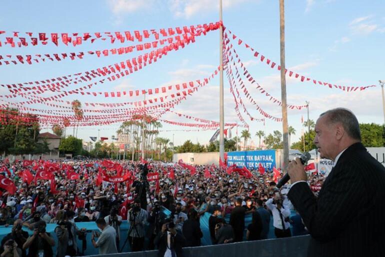 Son dakika... Mersinde toplu açılış Cumhurbaşkanı Erdoğandan önemli açıklamalar