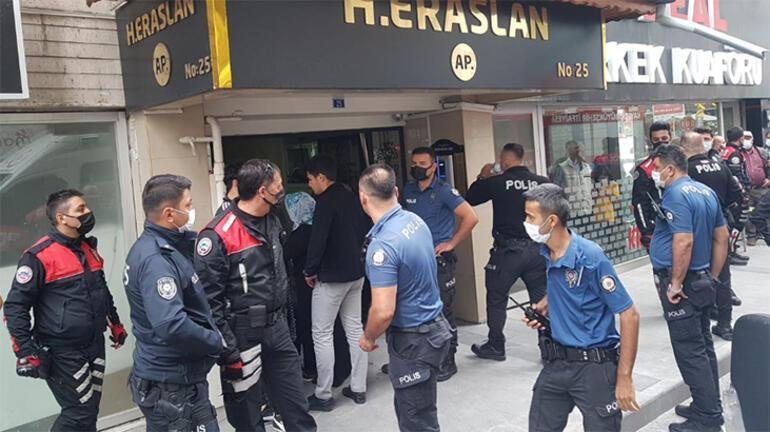 Apartmanı ayağa kaldıran ölüm Polis linç girişimini engelledi