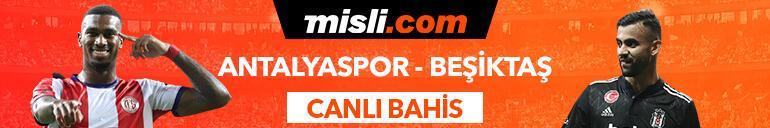 Antalyaspor-Beşiktaş maçı canlı bahis seçeneğiyle Misli.comda