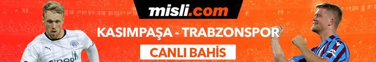 Kasımpaşa-Trabzonspor maçı canlı bahis seçeneğiyle Misli.comda